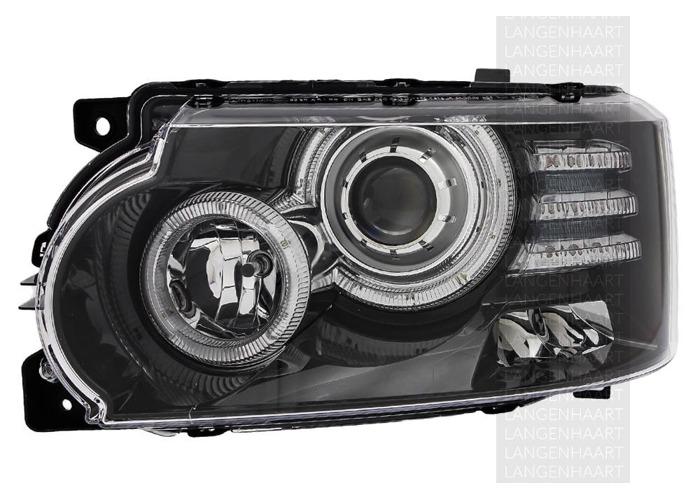 RHD Front Left Headlight x1 Bi-Xenon LED Fits Land Rover Range Rover Mk Iii - 1