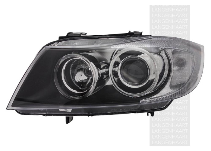 RHD Front Left Headlight x1 Bi-Xenon Replacement Spare Fits BMW 3 01.05-12.11 - 1