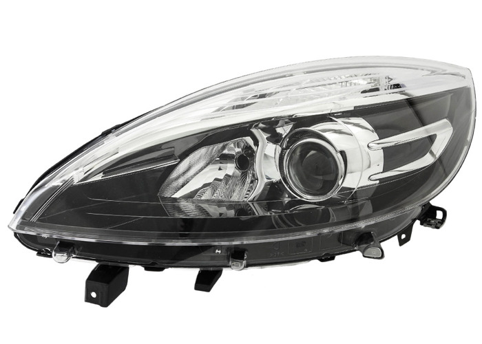 RHD Front Left Headlight x1 Halogen Fits Renault Grand Scénic Iii 05.13-On - 1