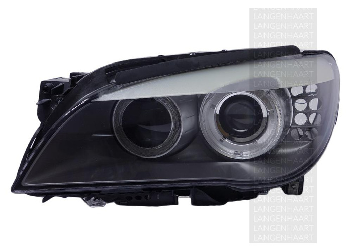 RHD Front Left Headlight x1 Halogen LED Replacement Spare Fits BMW 7 06.08-12.15 - 1