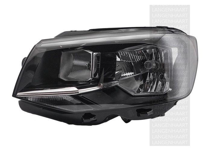 RHD Front Left Headlight x1 Halogen Spare Fits VW Multivan Mk Vi 04.15-On - 1