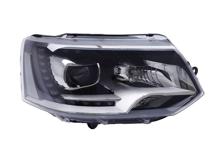 RHD Front Right Headlight x1 Bi-Xenon Fits VW Transporter / Caravelle Mk V Bus - 2