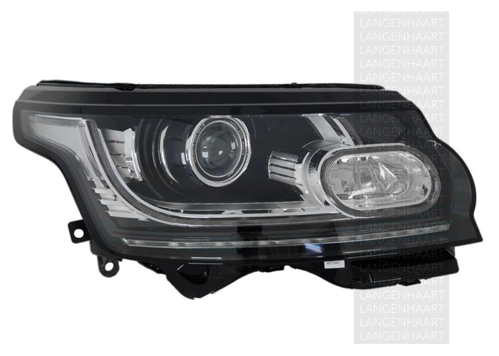 RHD Front Right Headlight x1 Bi-Xenon LED Fits Land Rover Range Rover Iv - 2