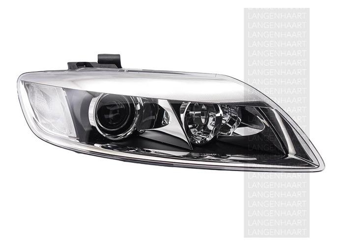 RHD Front Right Headlight x1 Bi-Xenon Replacement Spare Fits Audi Q7 03.06-08.15 - 1