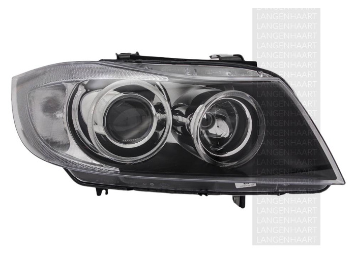 RHD Front Right Headlight x1 Bi-Xenon Replacement Spare Fits BMW 3 01.05-12.11 - 1