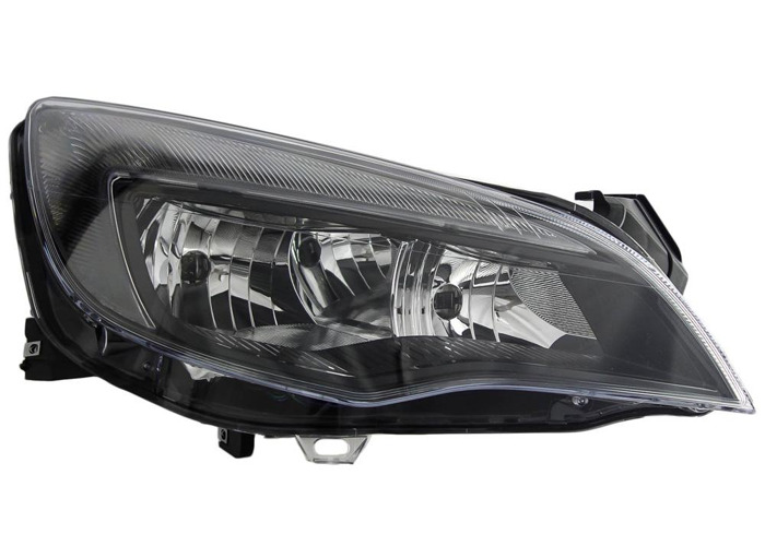 RHD Front Right Headlight x1 Halogen LED Fits Vauxhall Astra J 12.09-On - 1