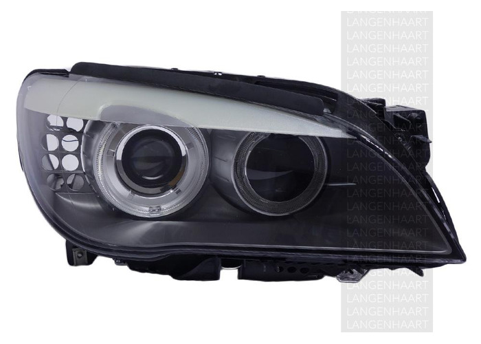 RHD Front Right Headlight x1 Halogen LED Replacement Fits BMW 7 06.08-12.15 - 2