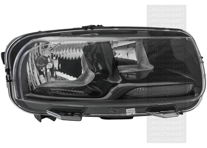 RHD Front Right Headlight x1 Halogen Spare Fits Citroen C4 Cactus 09.14-On - 1
