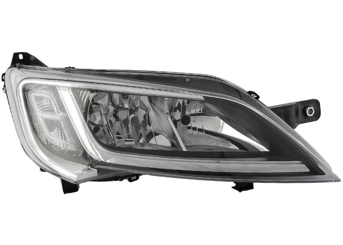 RHD Front Right Headlight x1 Halogen Spare Fits Peugeot Boxer Box 06.14-On - 1