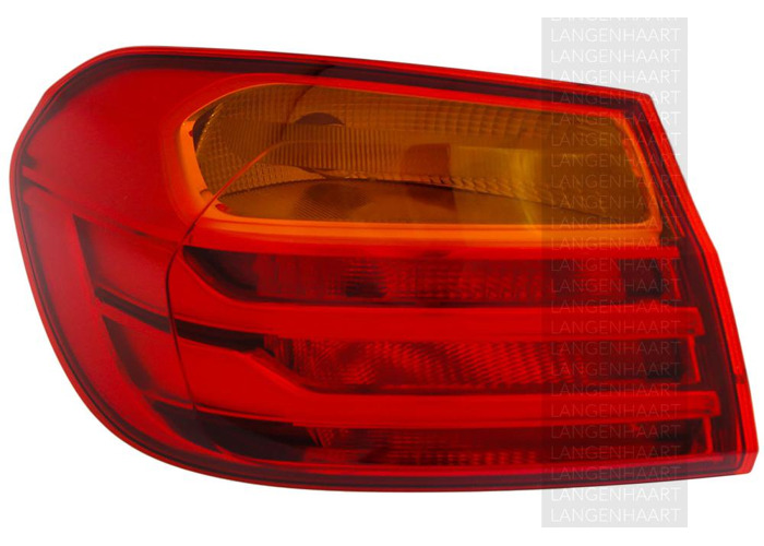 RHD LHD Rear Left Outer Rear Light x1 Halogen LED Fits BMW 4 Convertible - 2