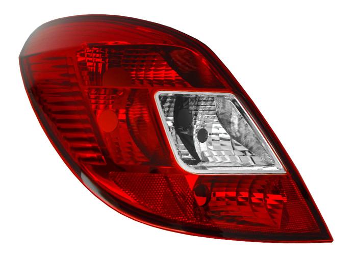 RHD LHD Rear Left Rear Light x1 Halogen Fits Vauxhall Corsa D 07.06-On - 1