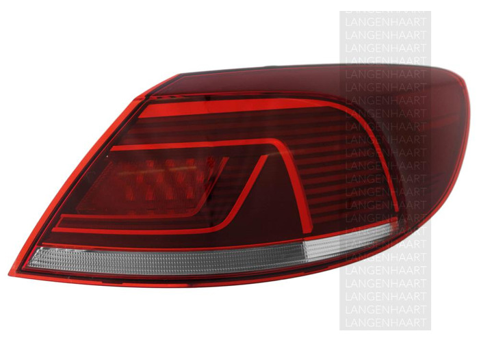 RHD LHD Rear Right Outer Rear Light x1 Halogen LED Fits VW Cc 11.11-On - 1