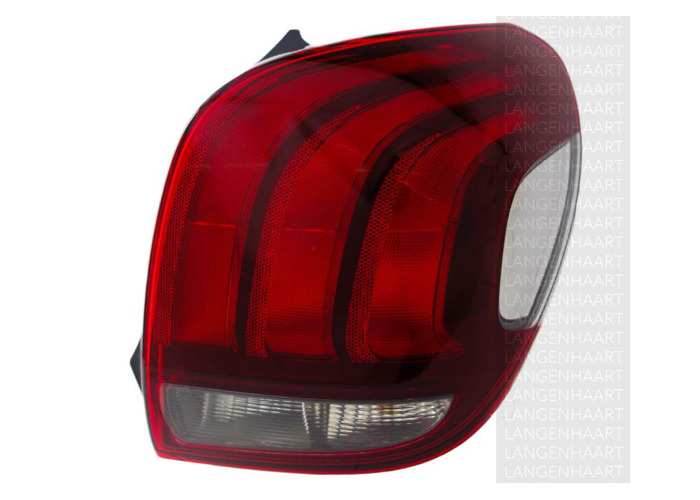 RHD Rear Right Rear Light x1 Halogen Replacement Spare Fits Peugeot 108 05.14-On - 1
