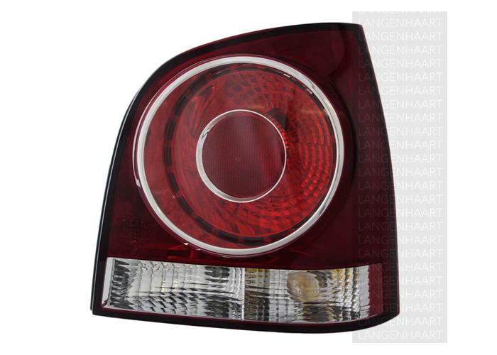 RHD Rear Right Rear Light x1 Halogen Replacement Spare Fits VW Polo 10.01-01.12 - 1