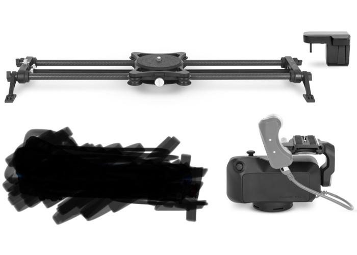 "Rhino ArcII, Focus module & 42"" carbon rails (new version - 1"
