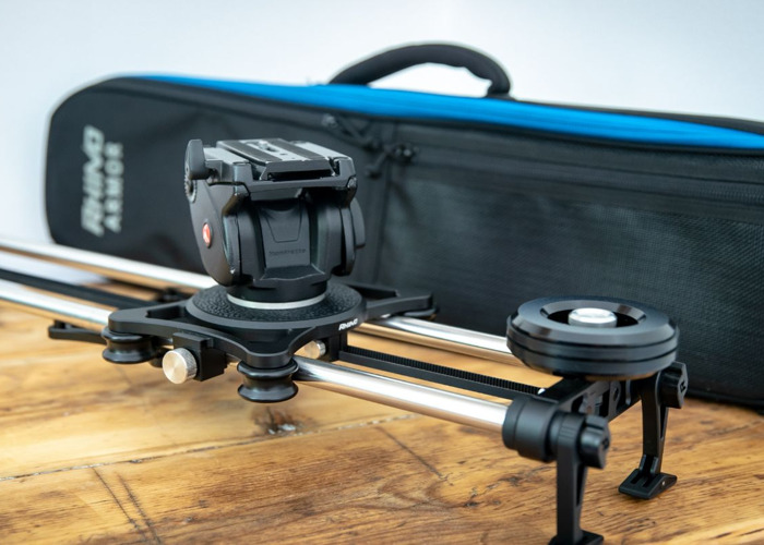 Rhino EVO Pro 24 Inch Slider with fluid head and case - 1