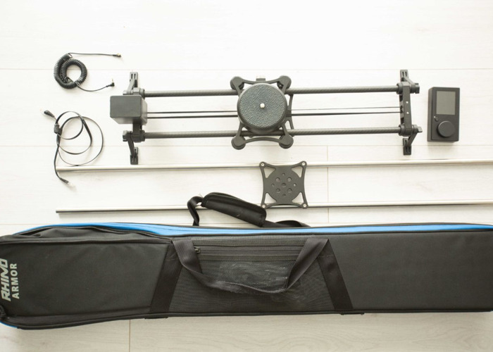 Rhino Motorized Slider Kit with motion and Arc - 1