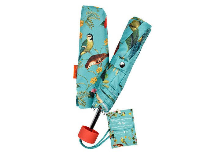 RHS Flora & Fauna Compact Umbrella - 1