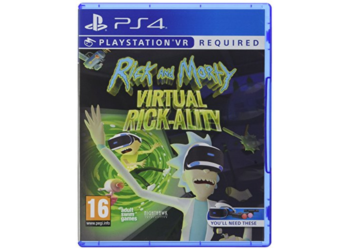 Rick and Morty Virtual Rick-Ality (PS4) [video game] - 1