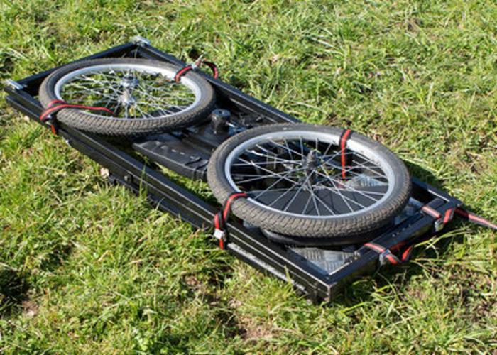 Rickshaw for stabilized filming  - 2