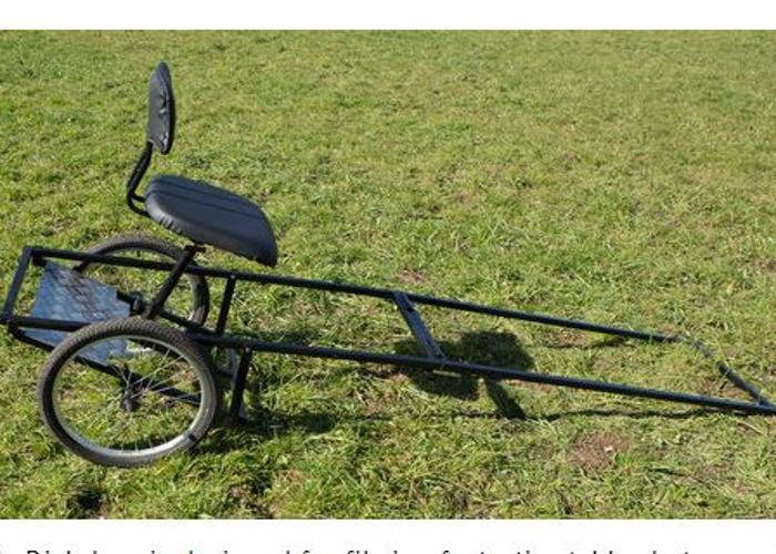 Rickshaw for stabilized filming  - 1