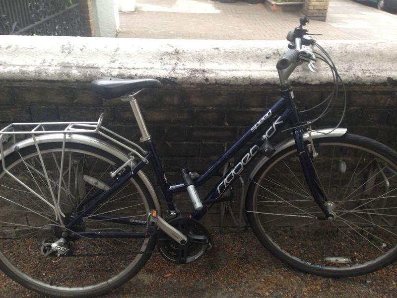 Ridgeback Bike With DLock - 1