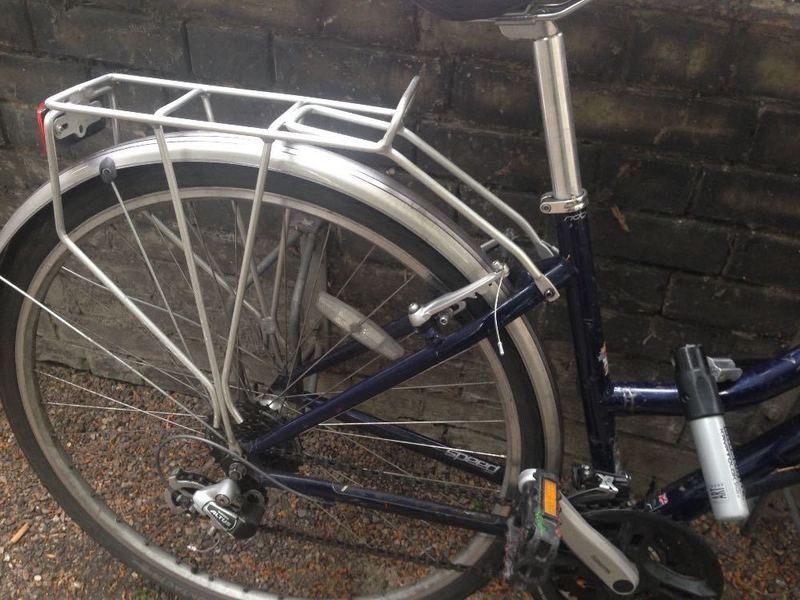 Ridgeback Bike With DLock - 2