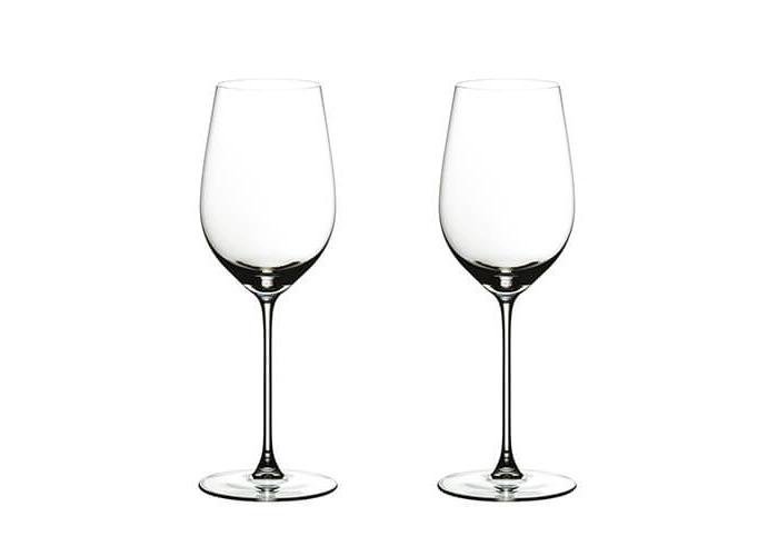 Riedel Veritas Riesling/Zinfandel 6449/15 2 White Wine Glasses 395ml - 1
