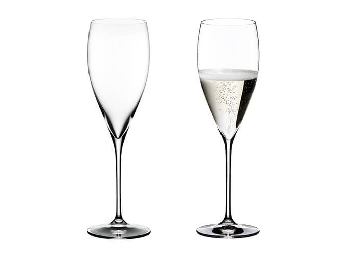 Riedel Vinum Vintage Champagne Set Of 2 Glasses - 1