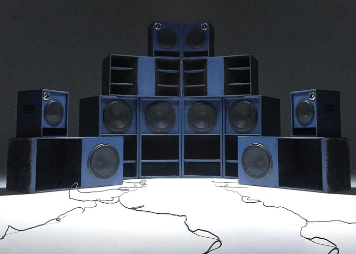RIGFIFTYONE 11 Kw Soundsystem stack rig  - 1