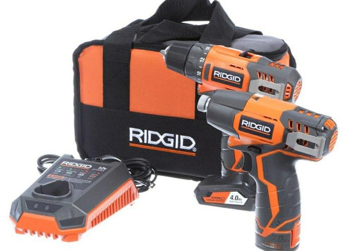 Rigid drill and impact combo kit - 1