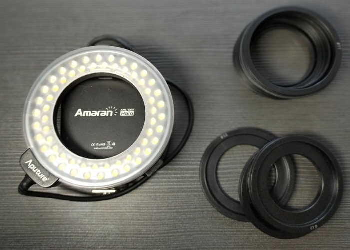 Ring light (Hot shoe & Lense mount) - 1