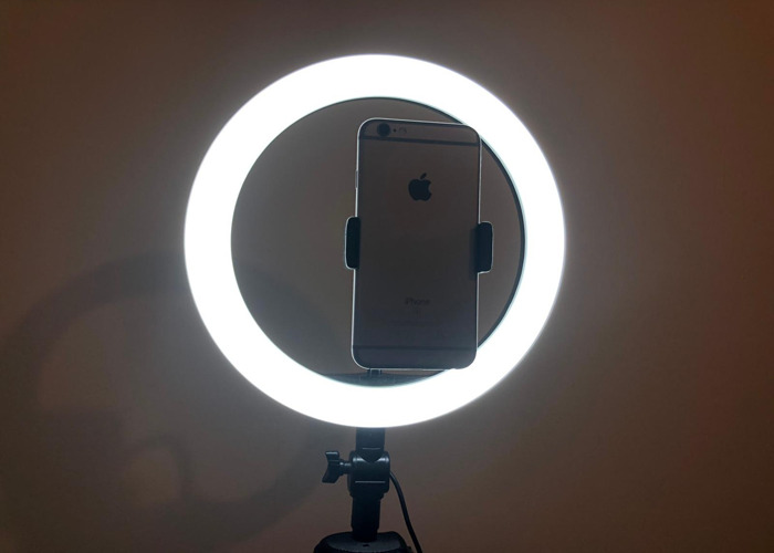 Ring Light With Phone Attachment - 2