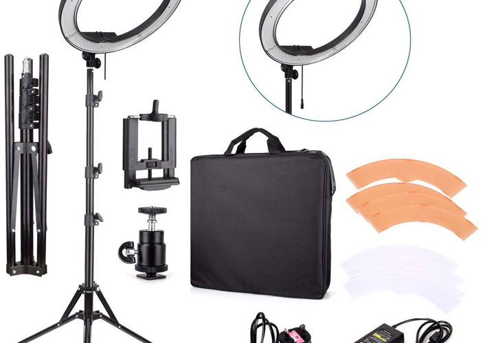 """Ring Light With Stand 18"""" - 2"""
