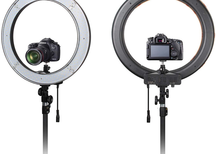 """Ring Light With Stand 18"""" - 1"""