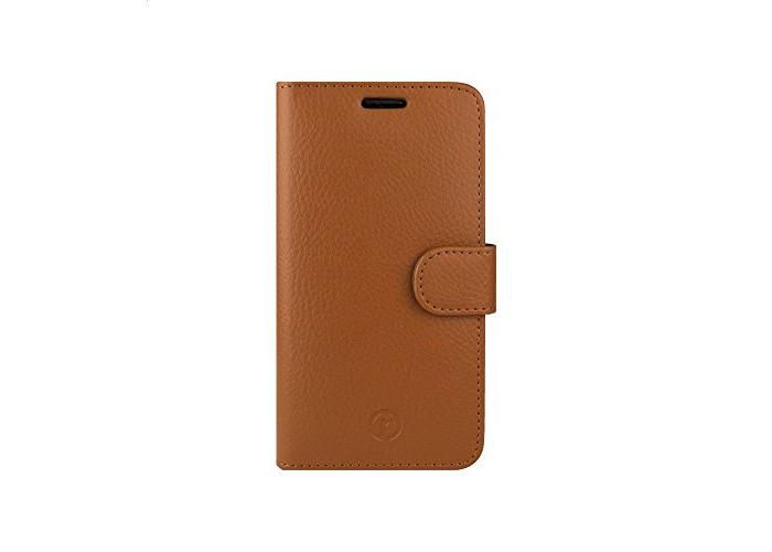 RN Redneck Prima Wallet Folio Case for Samsung Galaxy S6 Edge - Tan - 1