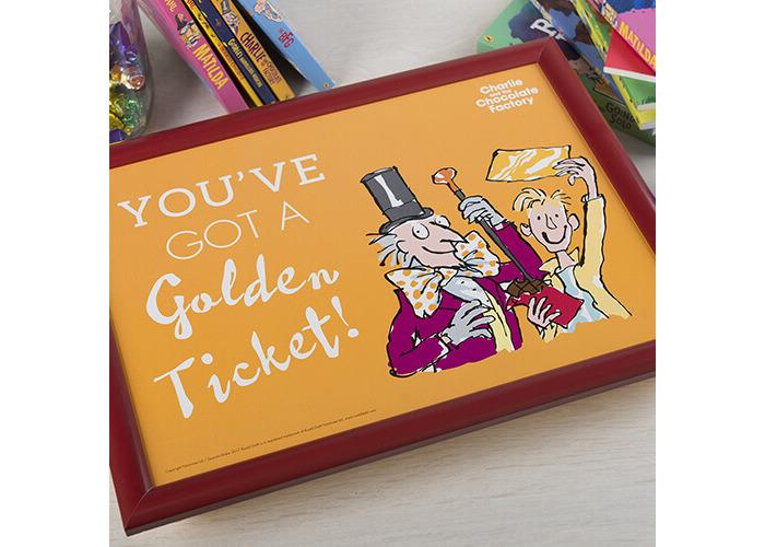 Roald Dahl Charlie & The Chocolate Factory Laptray - 2