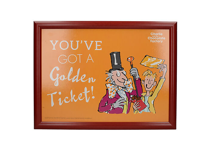 Roald Dahl Charlie & The Chocolate Factory Laptray - 1