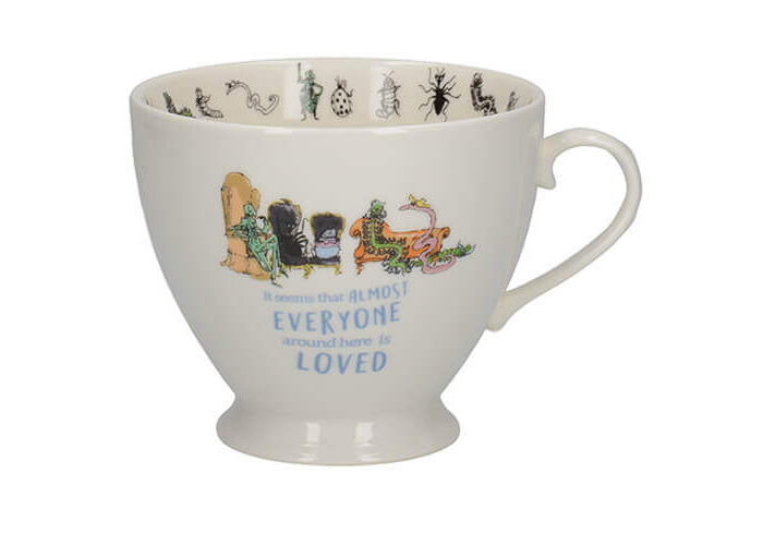 Roald Dahl James And The Giant Peach Footed Mug - 1