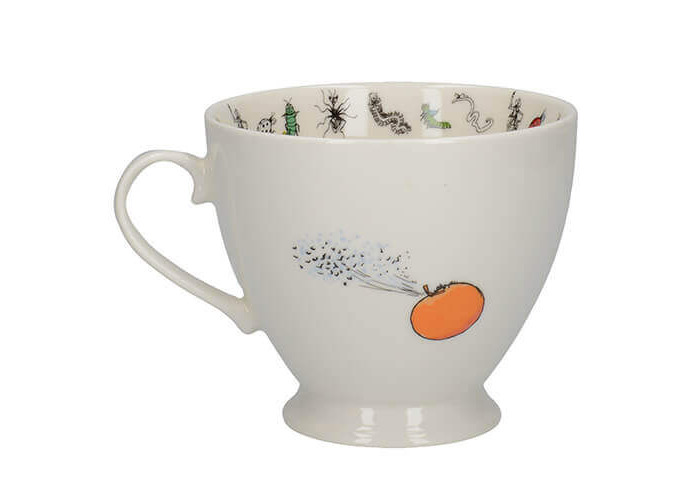 Roald Dahl James And The Giant Peach Footed Mug - 2