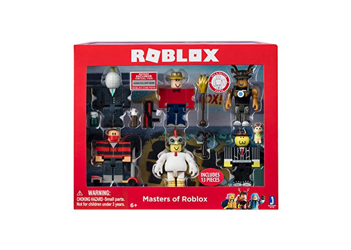 Roblox Masters Six Figure Pack - 2