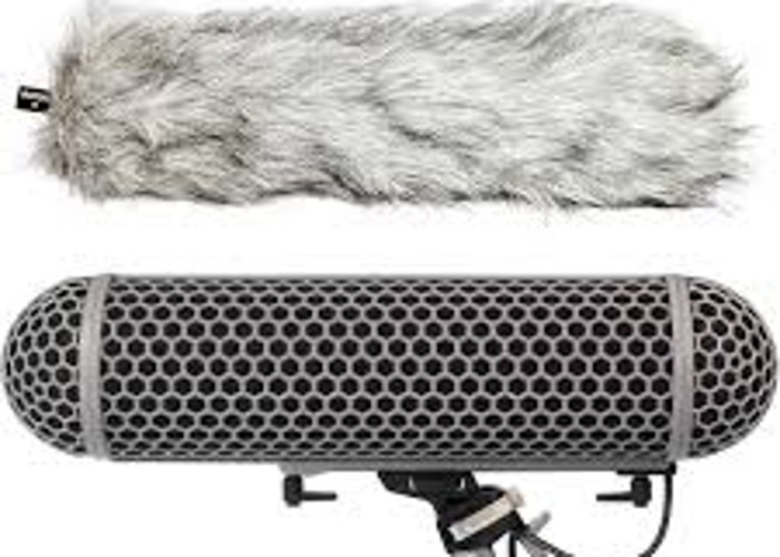 Rode Blimp Windshield and Rycote Shock Mount - 1