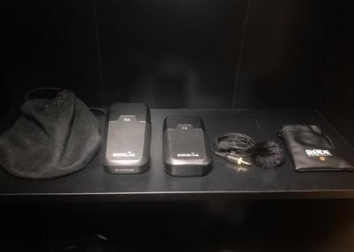 Rode Link Filmmaker Wireless Lavalier Mic Audio System - 1