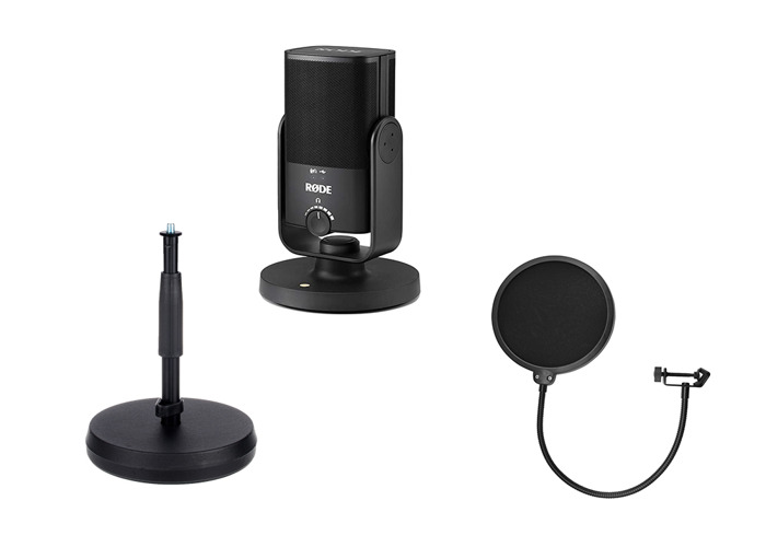 Rode NT USB Mini Recording Package - 1