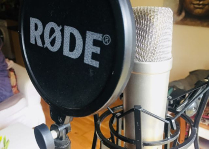 Rode NT1-A Condenser Recording Microphone Kit - 1