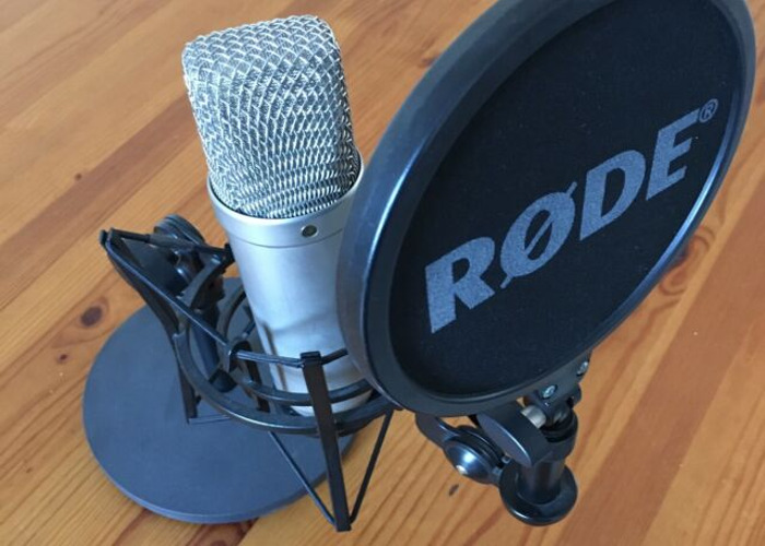 3 x Rode NT1-A Microphone - 1
