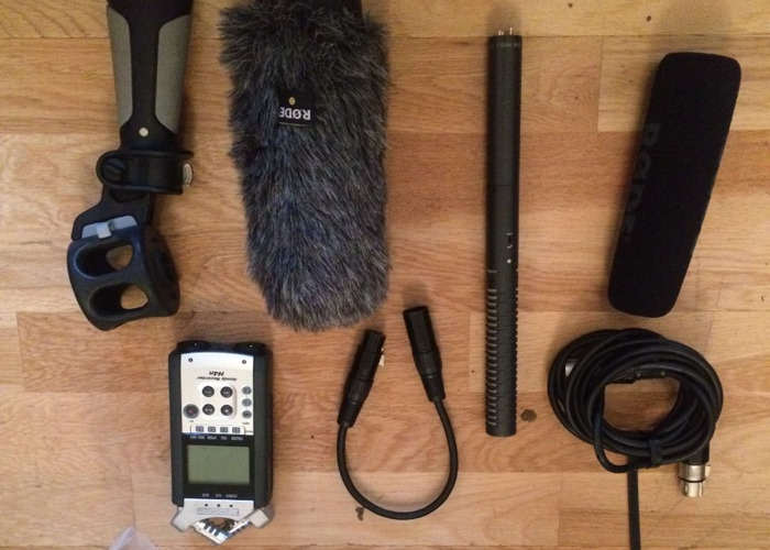 Rode NTG-2 Mic & Zoom H4N Sound Recording Kit - 1