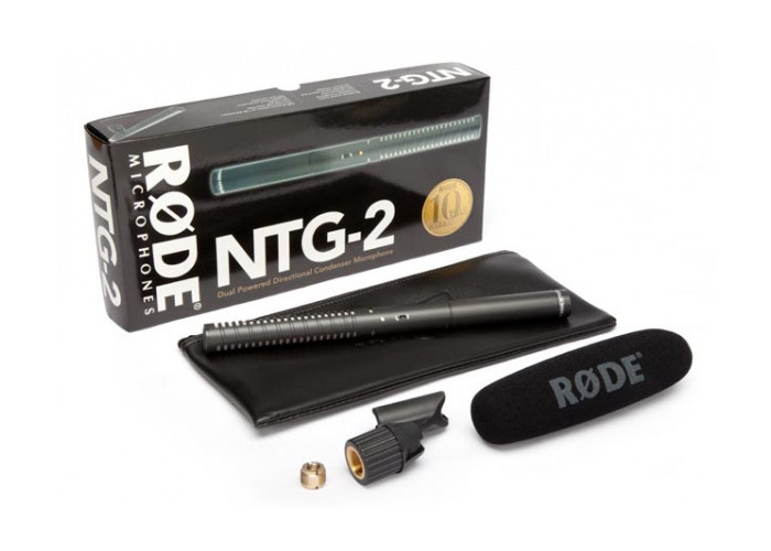 RODE NTG2 Shotgun Microphone - 2