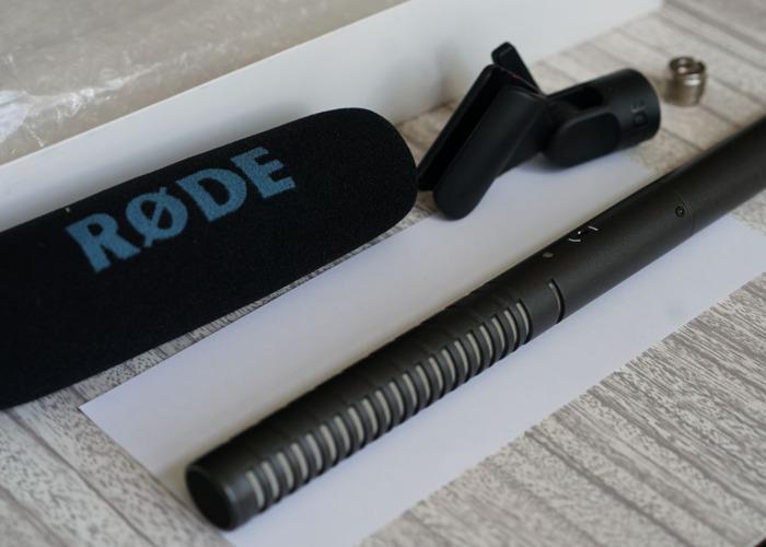 Rode NTG-2 Shotgun Microphone mic boom - 1