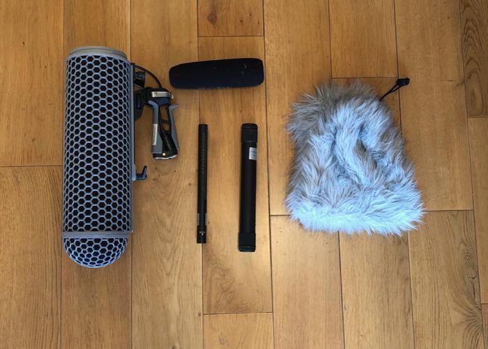 Rode NTG-3 Shotgun Boom Microphone + Pistol Grip + Blimp  - 2